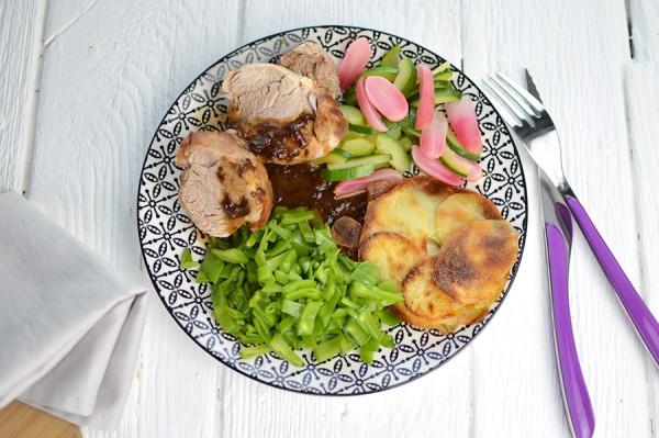 Filet mignon de porc + Dessert de chef