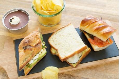 Plateau repas sandwichs