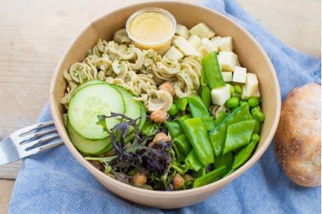 Salad Bowl XL + Sandwich + Cookie + Fruit BIO